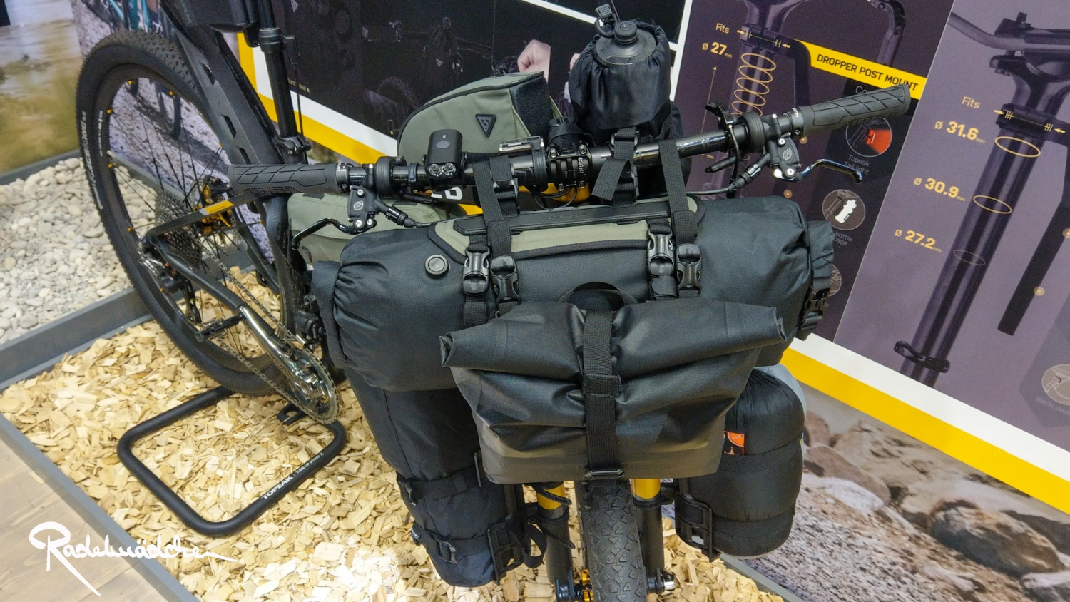 Topeak Bikepacking Bag,Eurobike 2019