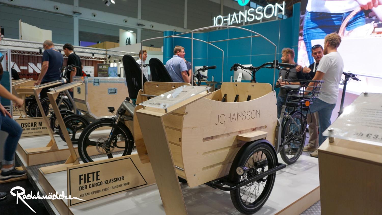 Johansson Cargobike,Eurobike 2019