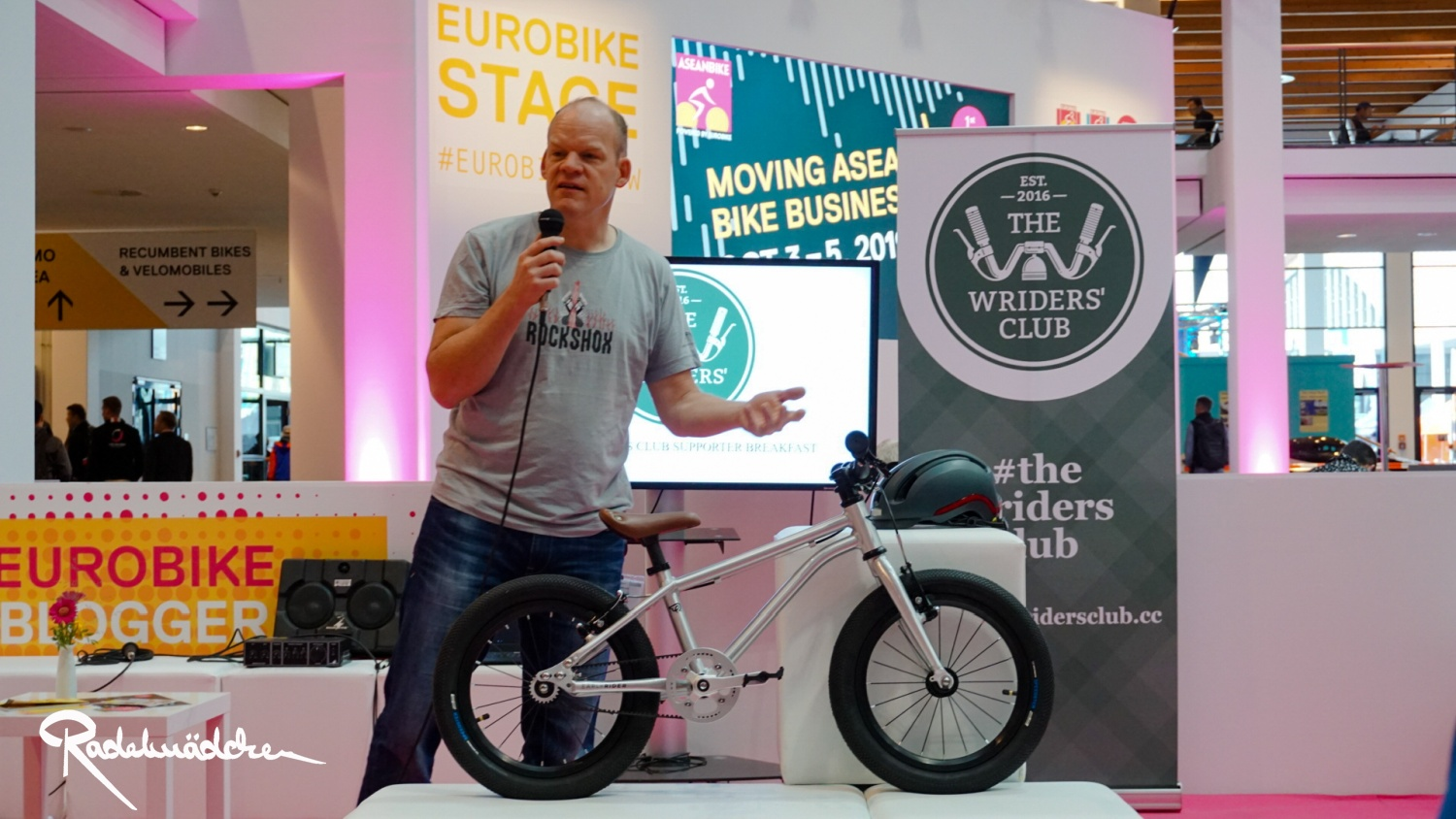 The Wriders' Club woom bike,Eurobike 2019