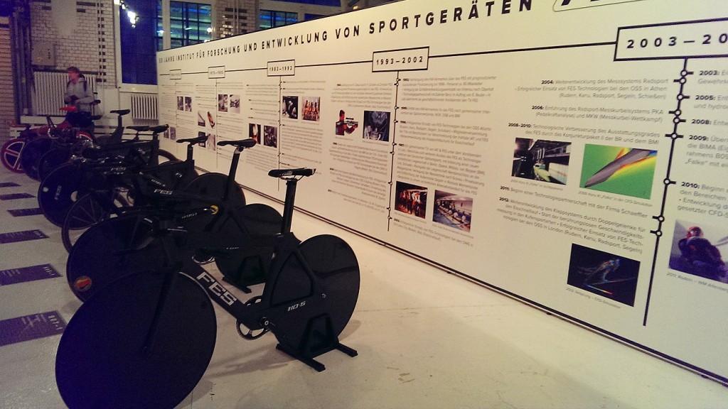Die Superfahrräder des FES auf der Berliner Fahrradschau