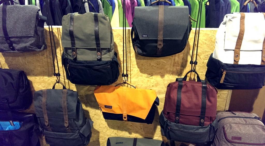 Bunte Mischung: Timbuk2 Taschen und Rücksäcke