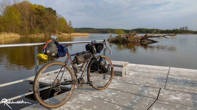 hanse gravel veloheld auf usedom am See
