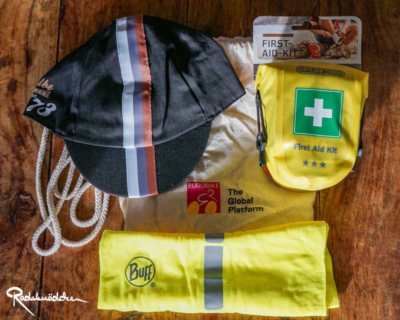 Erste Hilfe Kit, Cap und Beutel