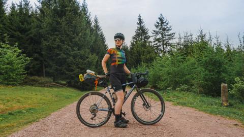 Radelmaedchen auf 8bar bikes