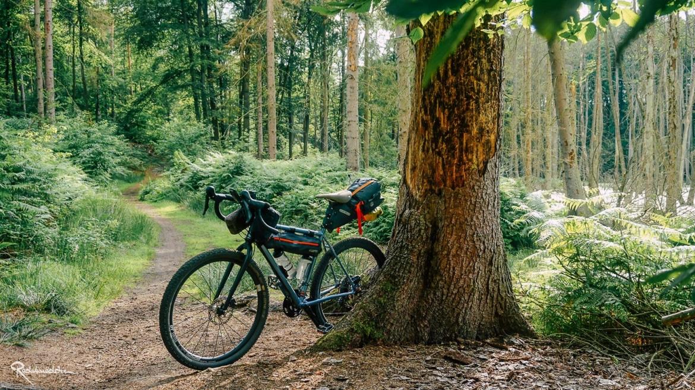 Fahrrad im Briestal