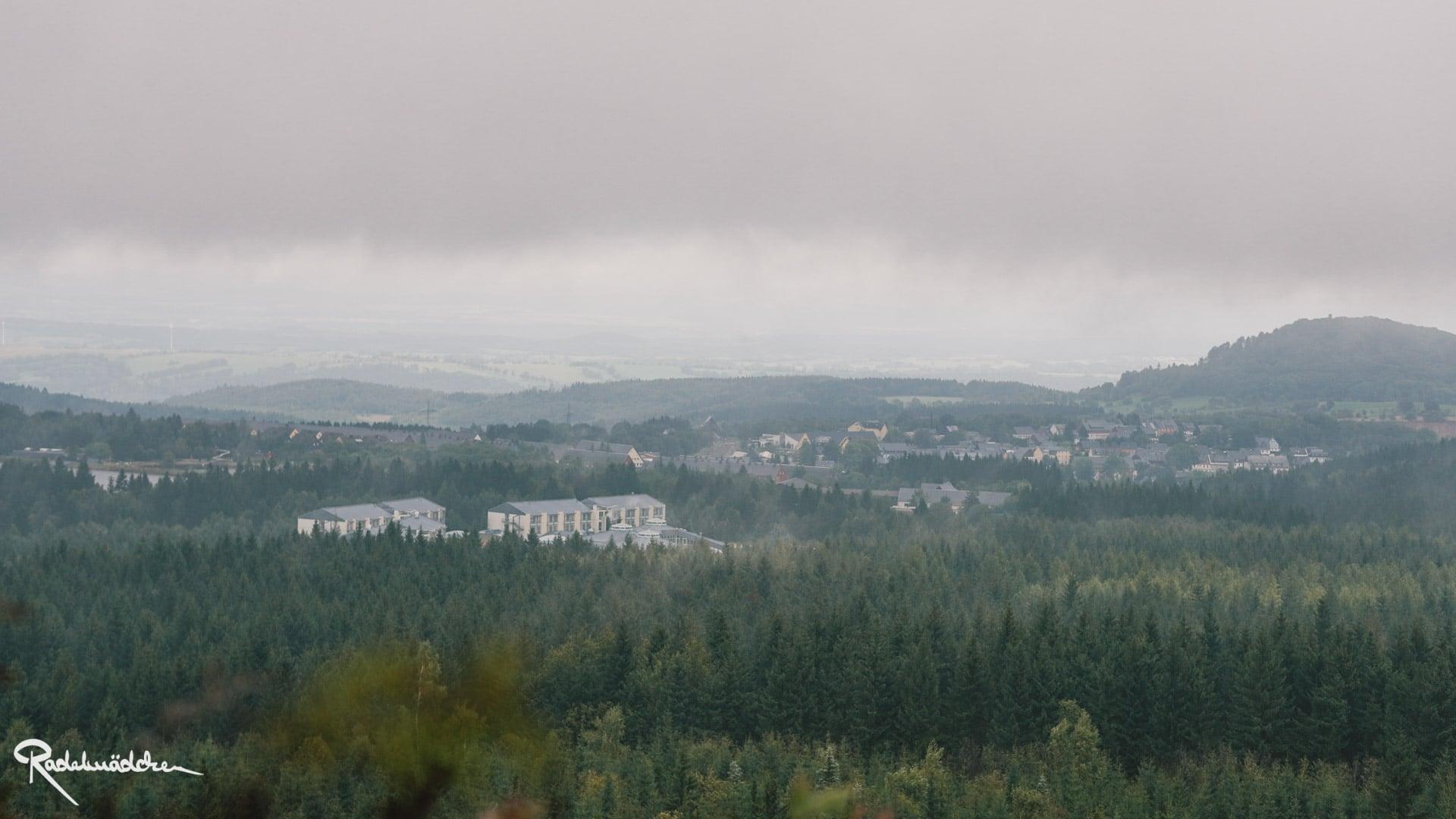 Nebel über der Landschaft